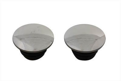 Polished Low Profile Gas Cap Set