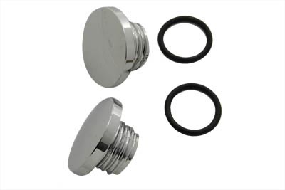 Medium Style Billet Gas Cap Set Vented and Non-Vented