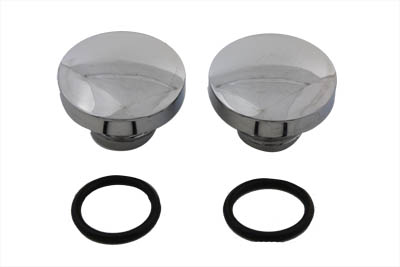 Tall Style Billet Vented and Non-Vented Gas Cap Set