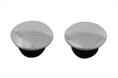 *UPDATE Chrome Low Profile Vented and Non-Vented Gas Cap Set