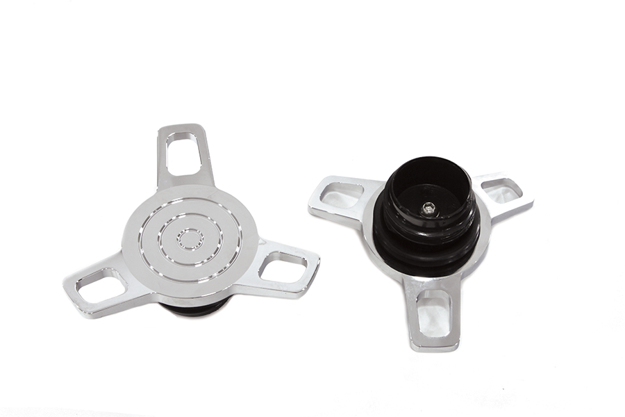 Spinner Style Vented and Non-Vented Gas Cap Set
