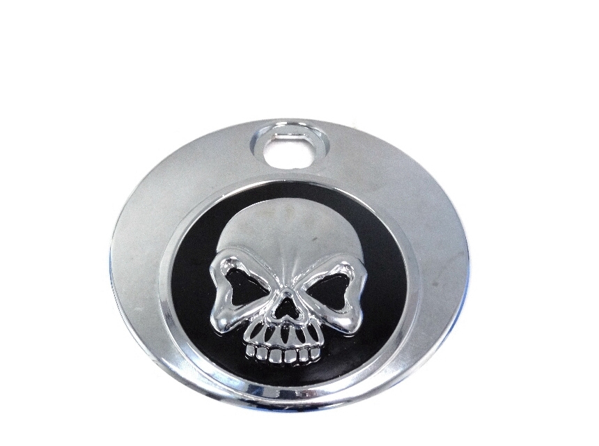 Black Skull Fuel Tank Console Door