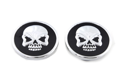 Skull Style Gas Cap Set Vented and Non-Vented