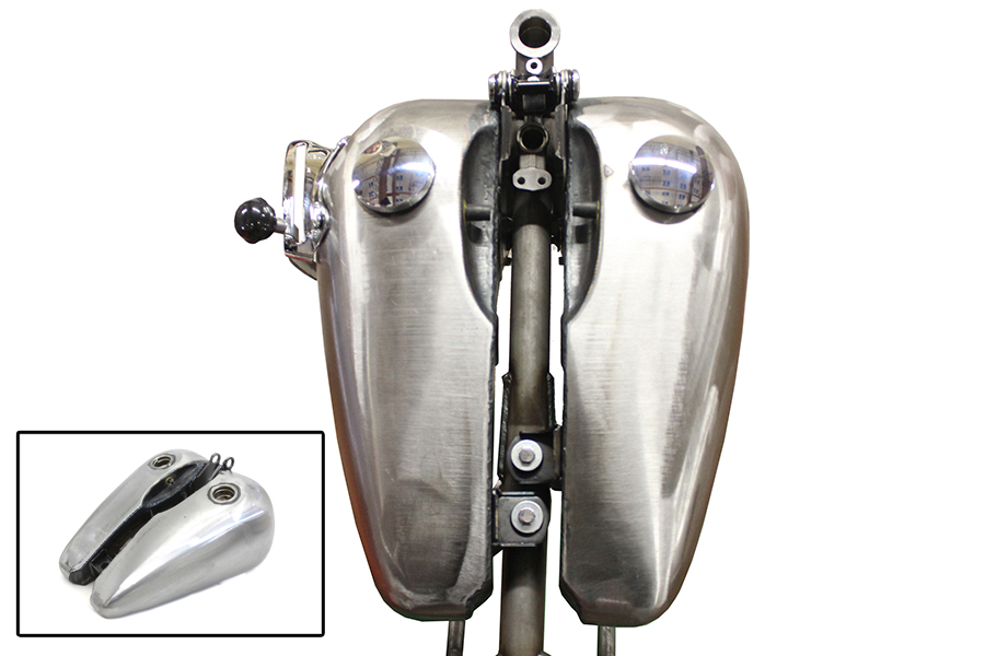 Bobbed 3.5 Gallon Gas Tank Set
