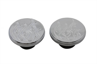 Flame Style Gas Cap Set Vented and Non-Vented
