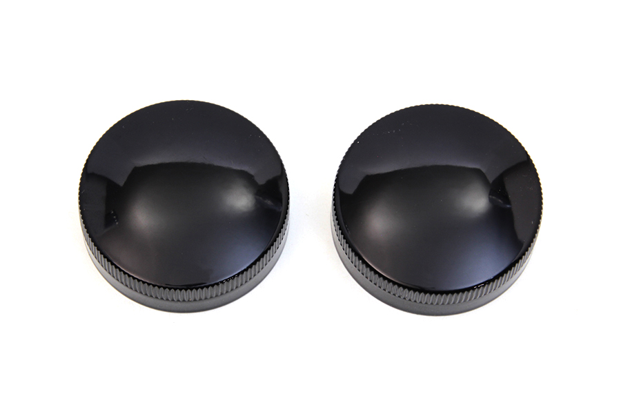 Gas and Oil Cap Set Black