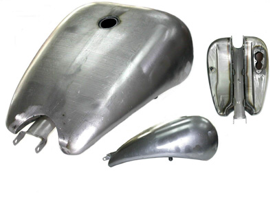 "2"" Stretch 4 Gallon EFI Gas Tank"