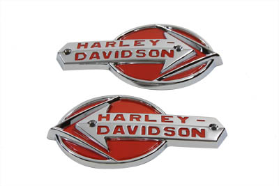 OE Emblem Set with Red Lettering
