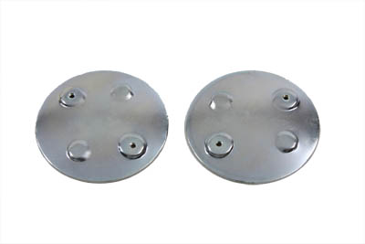 Curved Emblem Gas Tank Mount Set