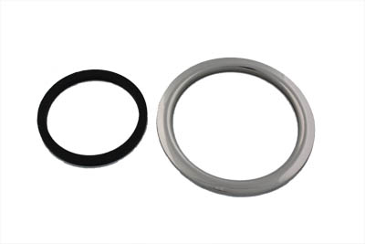 Bung Type Filler Ring Polished Stainless Steel
