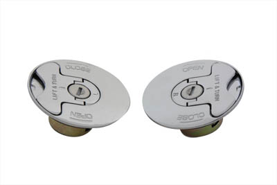 Locking Style Gas Cap Set Vented and Non-Vented