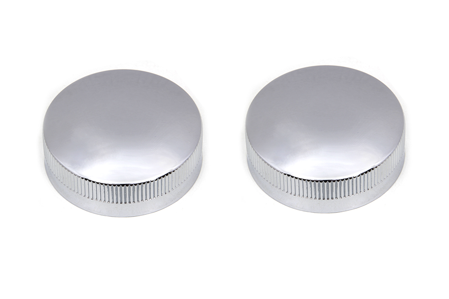 Replica Eaton Style Gas Cap Set Vented Chrome