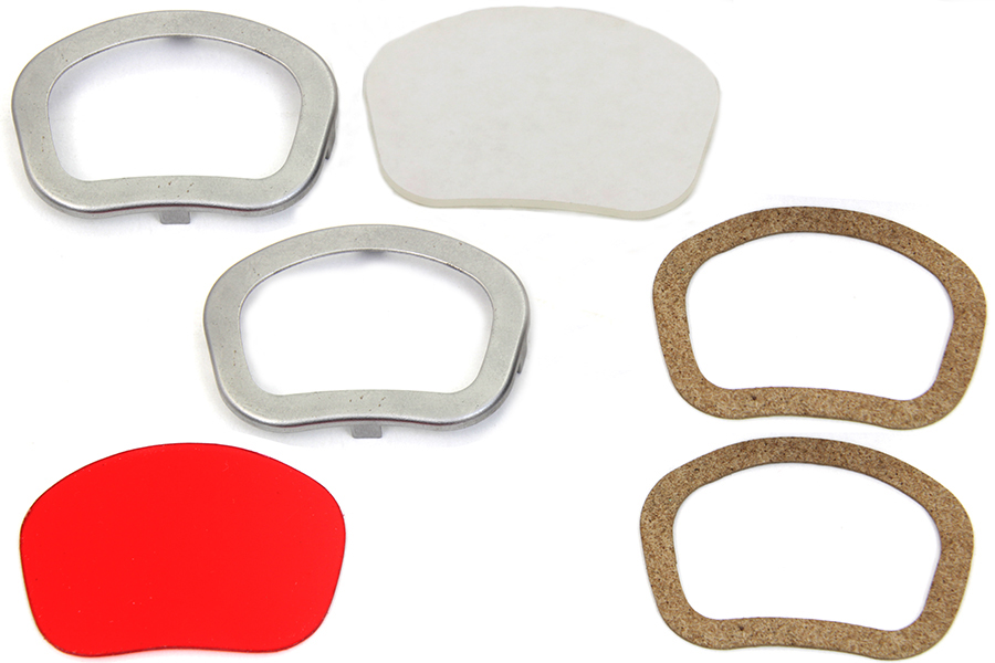 Dash Panel Lens Rim Set Raw