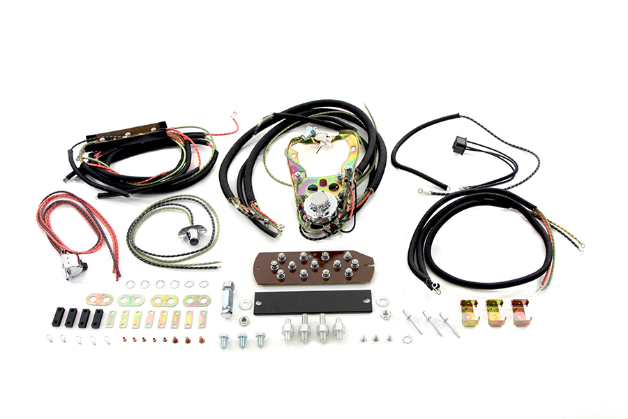 Three Light Dash Base Wiring Harness Assembly