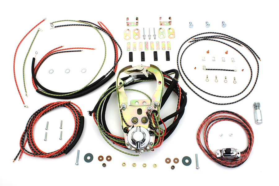 Two Light Dash Base Wiring Harness Assembly