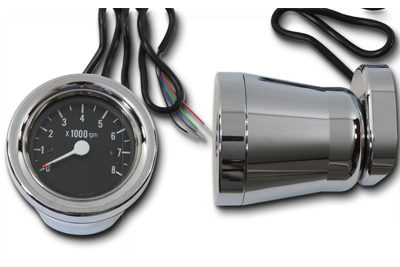 60mm Electric Tachometer Housing Kit