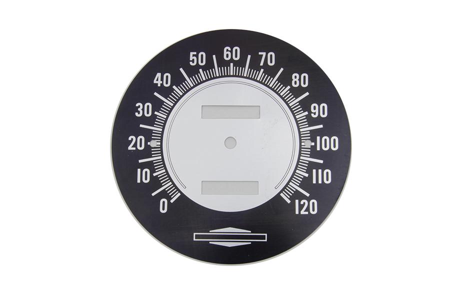 Speedometer Tin Face