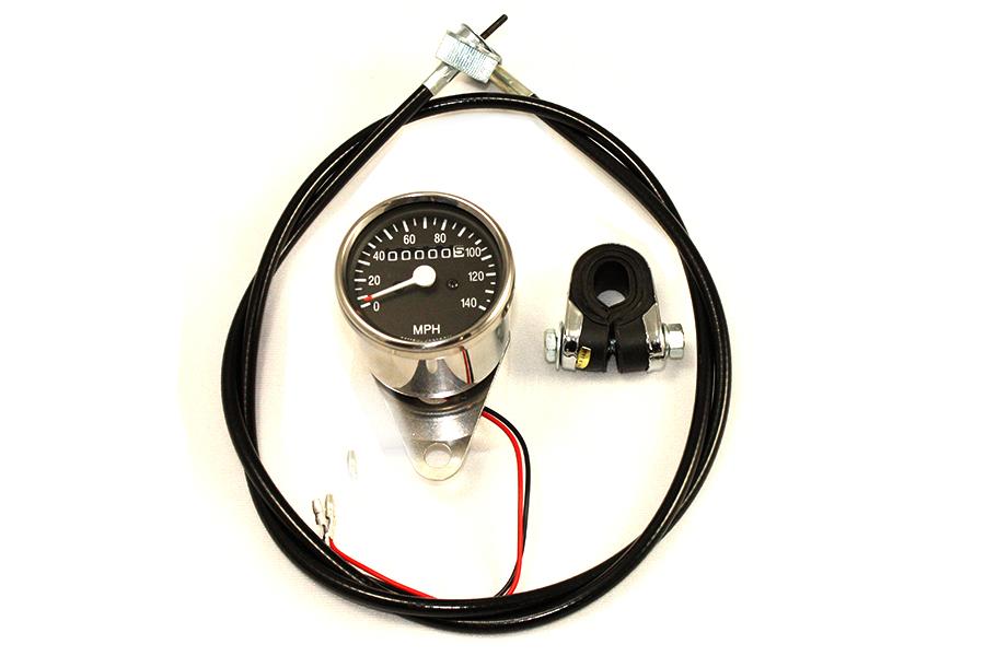 Mini 60mm Speedometer Kit with 1:1 Ratio