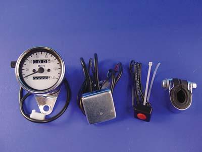 *UPDATE Multi Colored 60mm Mini Speedometer with 2:1 Ratio