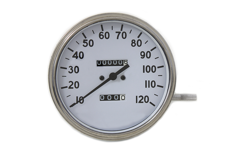 Replica 2:1 Speedometer with Black Needle