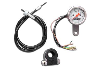 Mini 48mm Speedometer with 2:1 Ratio