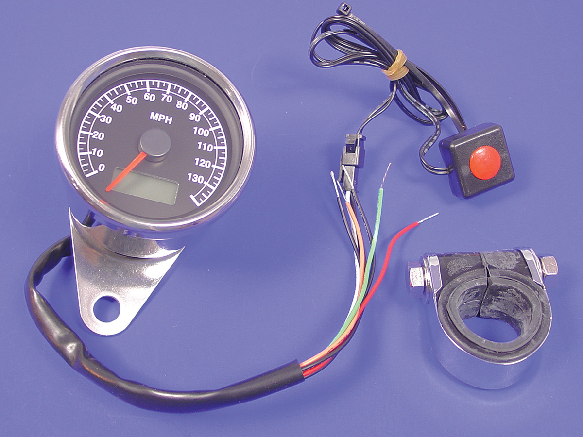 60mm Mini Electric Speedometer