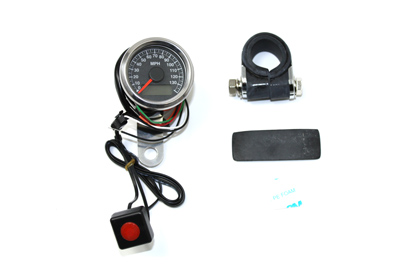 48mm Deco Mini Electric Speedometer