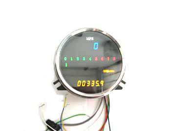 Digital Electronic Speedometer with Tachometer
