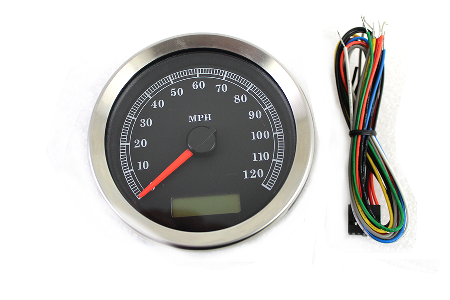 Programmable Gauge with Black Face
