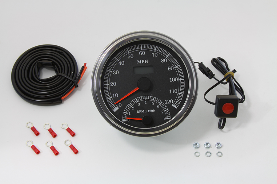 Multi Ratio Speedometer Tachometer Combo
