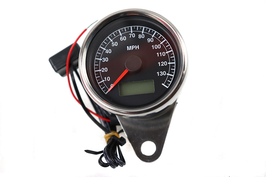 Mini Mechanical Speedometer with 2:1 Ratio