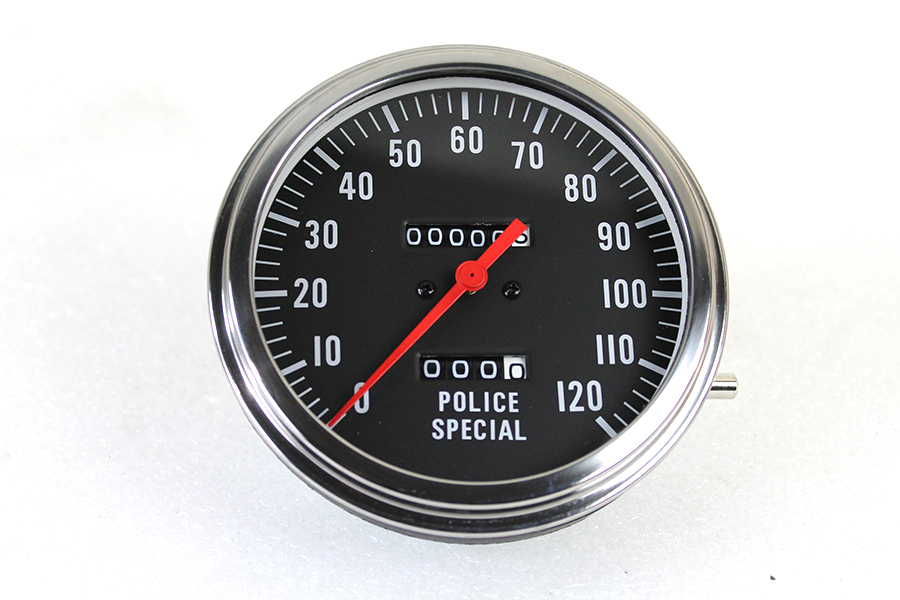 Police Speedometer 2:1 Ratio