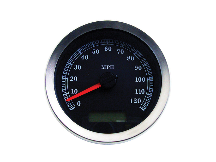 """4"""" Electronic Speedometer Assembly Black"""