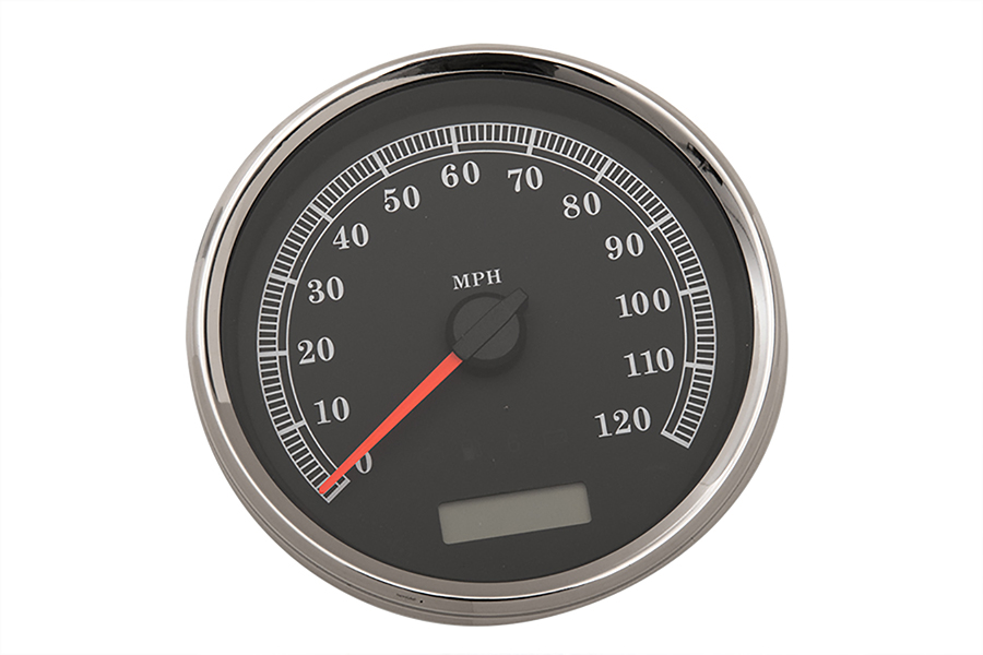"""5"""" Electronic Speedometer Assembly Black"""