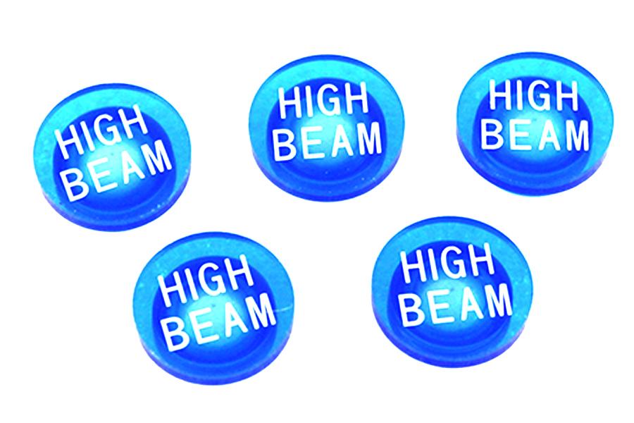 Blue Indicators Lenses