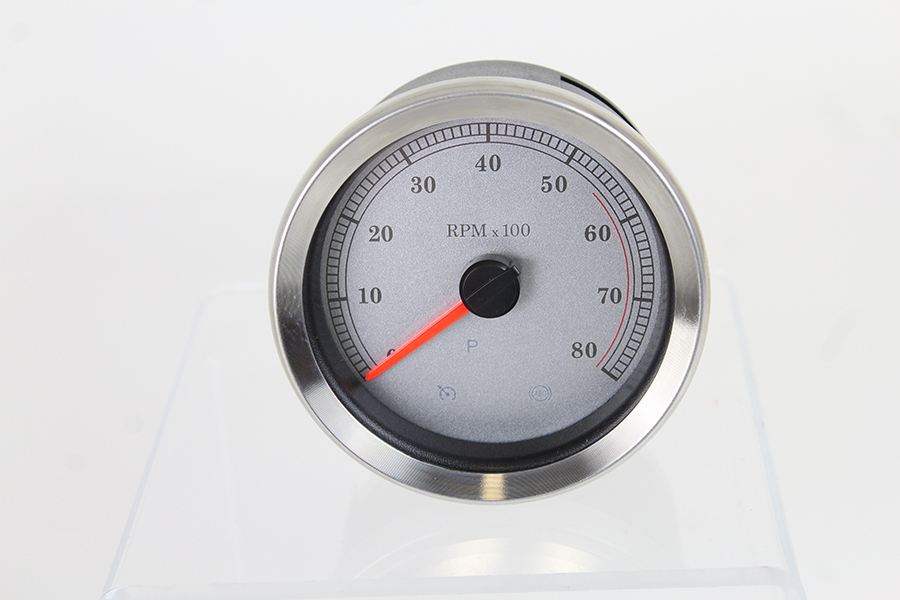 """4"""" Silver Electronic Tachometer"""