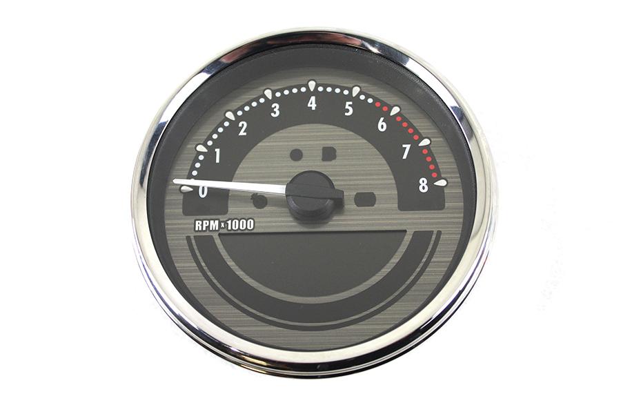 """AEE 5"""" Dakota Style Speedometer Black"""