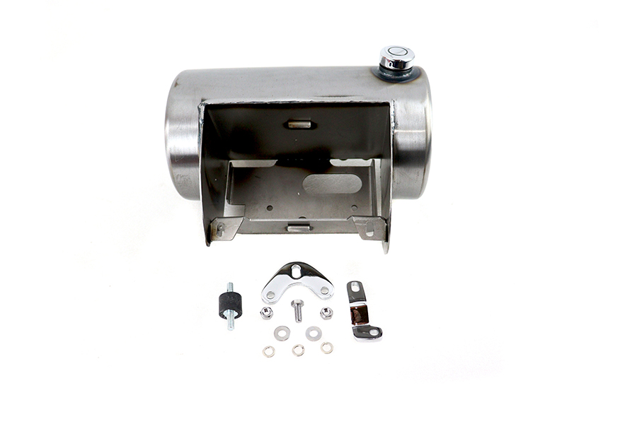 Raw Round Oil Tank Side Fill