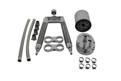 Oil Cooler Kit Dual Tube Vertical Type