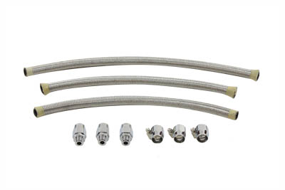 Custom Stainless Steel Oil Line Kit