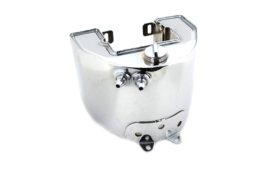 York Electric Start Oil Tank Chrome