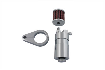 Chrome Sifton Engine Breather Oil Collector