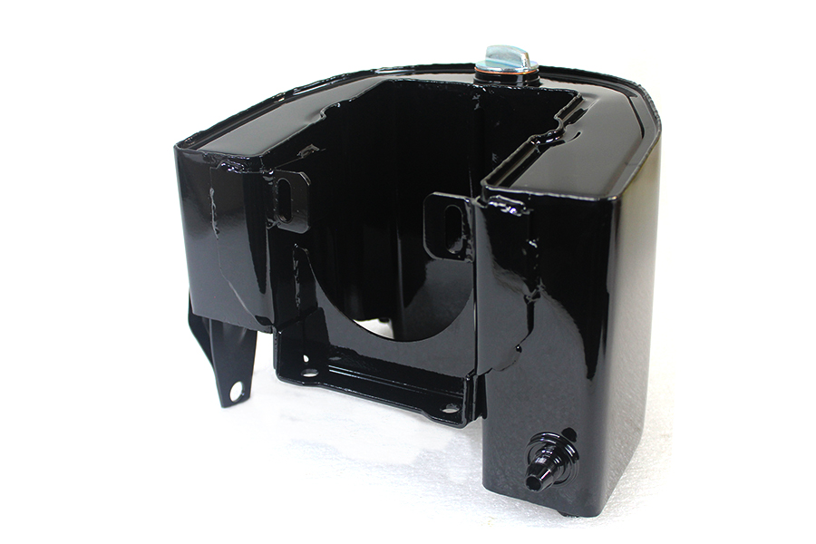 York Electric Start Oil Tank Black