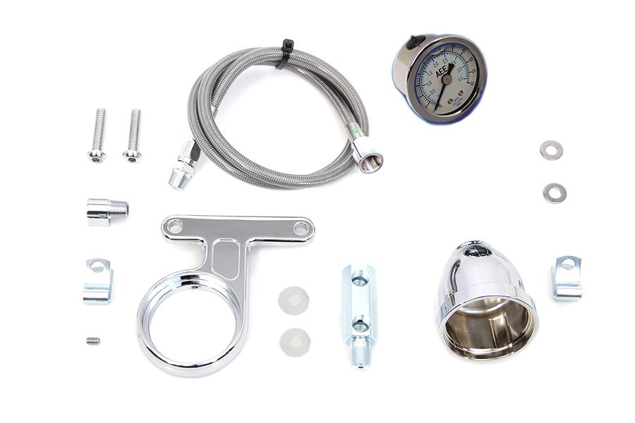 Rocker Box Oil Pressure Gauge Kit