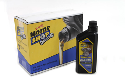 20-50W Motorshop Ready Oil Synthetic Gold