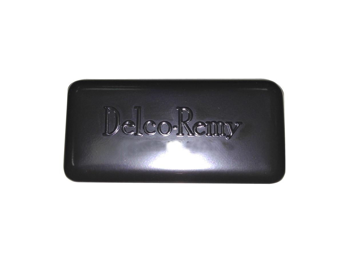 Black Replica Delco Remy Style Relay Cover