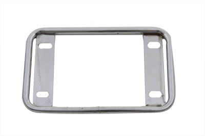 License Plate Frame Tubular Style Chrome