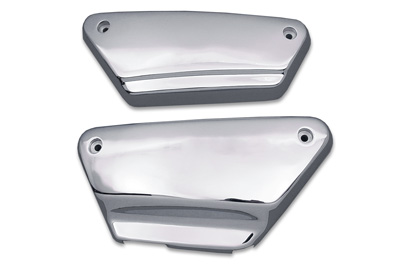 Frame Side Cover Set Smooth Chrome Steel