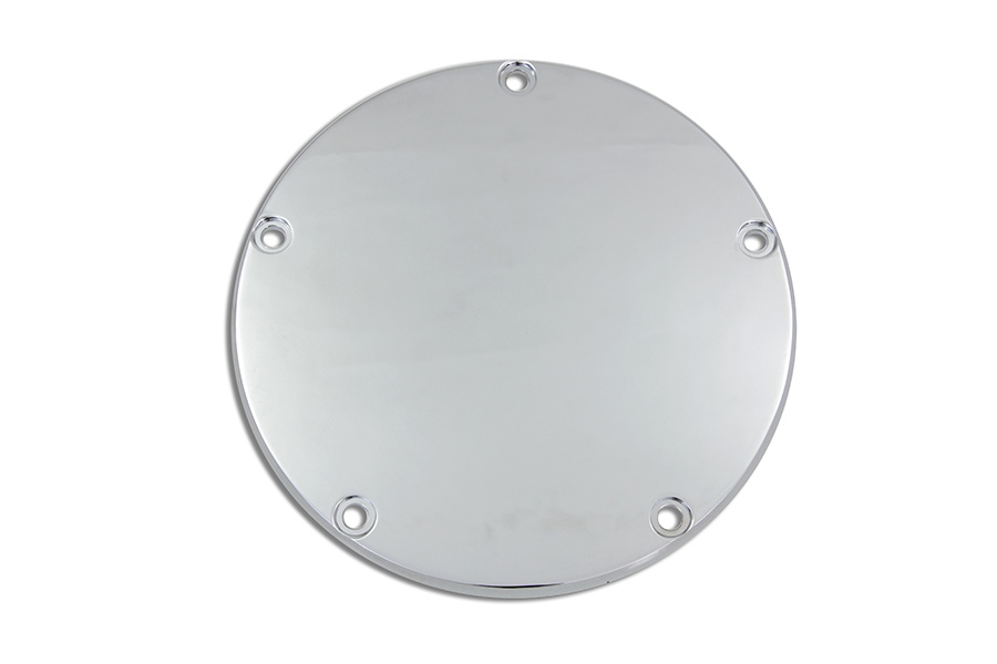 VTwin Chrome 5 Hole Motorcycle Derby Cover 1999-2018 Harley Touring FXST FLT FXD