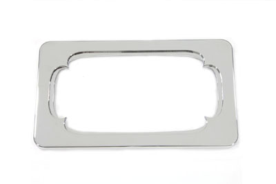 License Plate Frame Thorn Style Chrome Billet